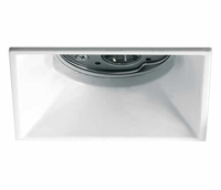 White Semi Trimless Square Dark Light Downlight | LV1202.0179