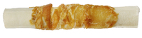 "The Butcher Shop Co. 5"" x 15mm White Pressed Stick wrapped with Chicken 4pk x 1"