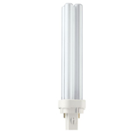 PHILIPS  PLC 26W/84 4 TUBE 2 PIN G24D3 1800LM