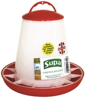 Supa Red & White Poultry Feeder 1kg x 3
