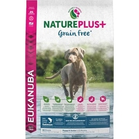 Eukanuba Nature Plus Puppy & Junior Grain Free Salmon 10kg