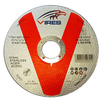 Vires S/S2 Cutting Disc 115mm x 1.0mm