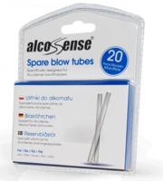 AlcoSense  Spare Blow Tubes pk (20)