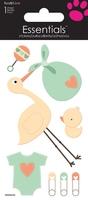 Baby Stork Essential Craft Sticker.