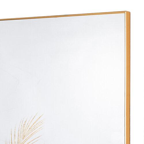 Mirror Art Fern Silhouette - Gold 3