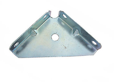 Corner Bracket 2 inch ZP Pack of 4