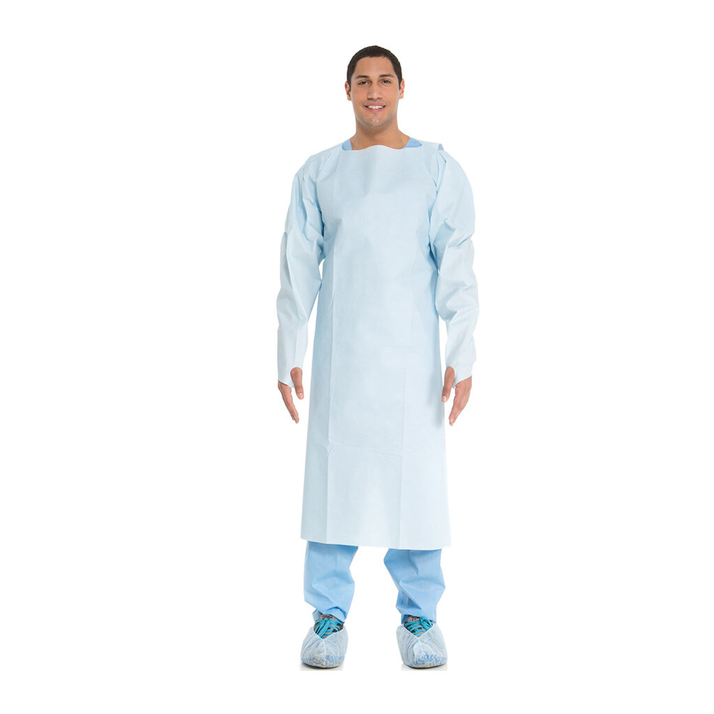 Impervious AeroChrome Chemotherapy Gown - Sterile