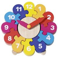 Children's Wooden Clock Puzzle
