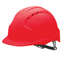 EVO3 Helmet Slip Ratchet - Red - Vented