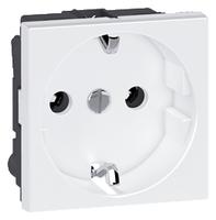 Arteor German Outlet Shuttered 16a - White  | LV0501.2421