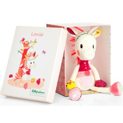 Louise the cuddly unicorn toy