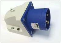 CEE II2166SRI Basic Wall Inlet 16A 230v 3P Blue IP44
