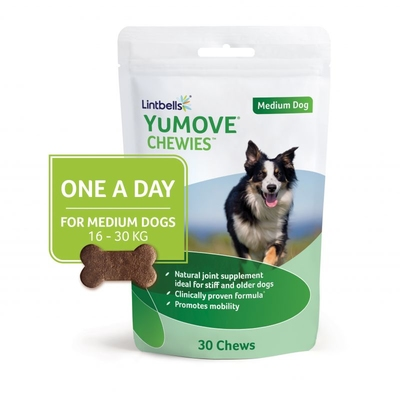 Lintbells YuMOVE Chewies for Medium Dogs 30-Chew x 1