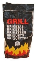 3 KG  GRILL CHARCOAL BRIQUETTES