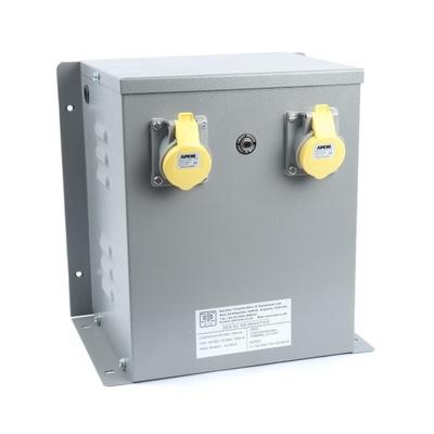 WS Enclosed 240/110V Input Protected Transformer (3~6kVA)