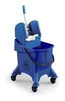 JUMPY BUCKET & WRINGER BLUE 30ltr