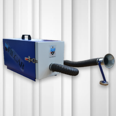 Portable Fume Extractor 1.15kW 230V w/ Hose & Magnetic Foot