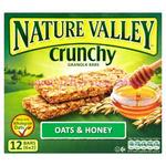 Nature Vall Multi Oats & Honey Granola 5pk x5