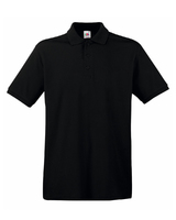 Fruit of the loom Black Polo Shirt