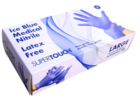 Supertouch Powderfree Nitrile Gloves, Medical Grade