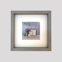 'Memories Box Frame Grey 23 x 23cm