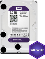 Western Digital Purple 2TB CCTV hard drive