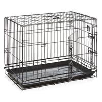 """Dog Life Dog Crate Large 36"""" x 22"""" x 25"""" Black x 1"""