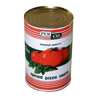 Tin Pizza Sauce (Spiced)-Perco-(6xA10kg)
