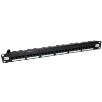 Connectix 24 PORT 1U CAT5E ELITE  PATCH PANEL