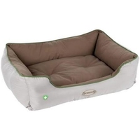 Scruffs Insect Shield Box Bed - Large Taupe 75 x 60cm