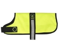 """Outhwaite Dog Coat Padded Lining 30"""" - Hi-Viz Yellow x 1"""