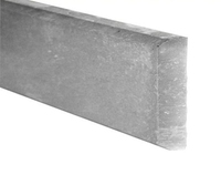 1.83m Concrete Gravel Board Smooth Faced 150x50mm