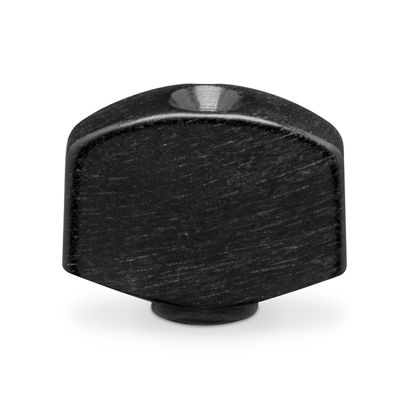 Schaller machine head button ebony set of 6