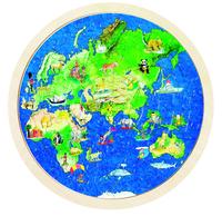 Globe Puzzle (P/Sng Min 1)