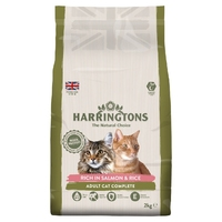 Harringtons Cat - Salmon with Rice 2kg