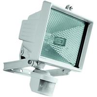 500 WATT T/H FTG PIR&LAMP WHITE