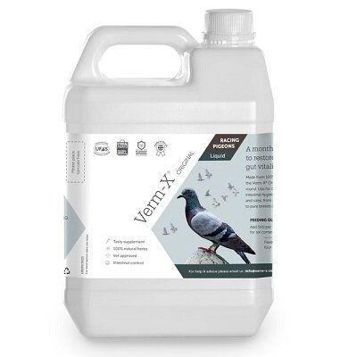 Verm X Liquid For Racing Pigeons 1L