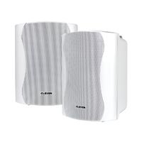 Clever Acoustics BGS 35T 100V White Speakers (Pair)