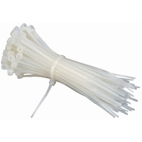 NCT270 Cable Tie 370* 4.8 White  (Pack 100)