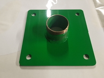 Blanking plate for 2''