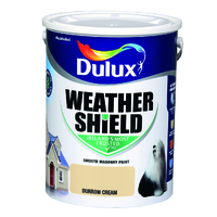 Dulux Weathershield Durrow Cream 5L