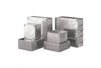 Adaptable boxes 9x9x4 Steel Knockout Box
