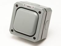 Eclipse IP65 Waterproof Switch 1 Gand 2 Way 20AMP