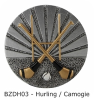 70mm Hurling / Camogie Blaze Disc