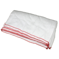 DISH CLOTH LARGE RED 10pk