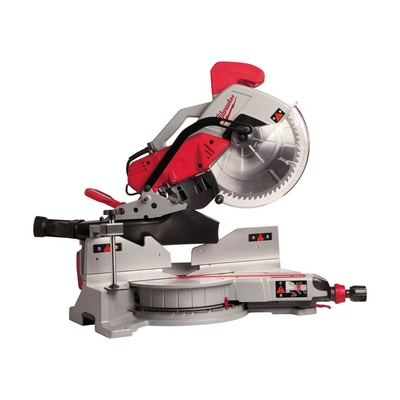 Milwaukee MS305DB Dual Bevel Sliding Mitre Saw c/w Digital mitre readout