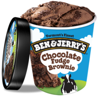 Ice Cream Chocolate Fudge Brownie-Ben & Jerry's-(8x500ml)