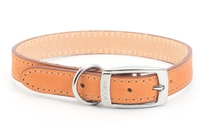 "Ancol Heritage Leather Collar Tan Size 4 18"" x 1"
