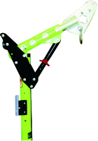 Advanced Adjustable Offset Upper Davit Mast - Use with Lower Extension reach of 29.2 to 69.8 cm (11-1/2 in. to 27-1/2 in.)