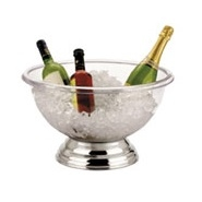 "Punch Bowl Polycarbonate 32 Pint 15 Litre 17"" 43cm Dia"